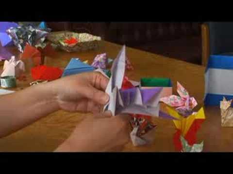Temel Origami Formları : Origami: Crane Fantail Bölüm 3