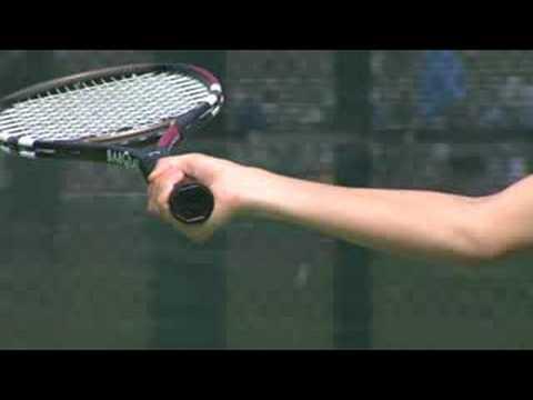 Tenis Hazırlık İpuçları: Tenis Kavrama: Backhand