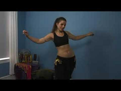 Oryantal Dans Alt Vücut Hareketleri : Göbek Dansı Kalça İle Şekil 8 Ters