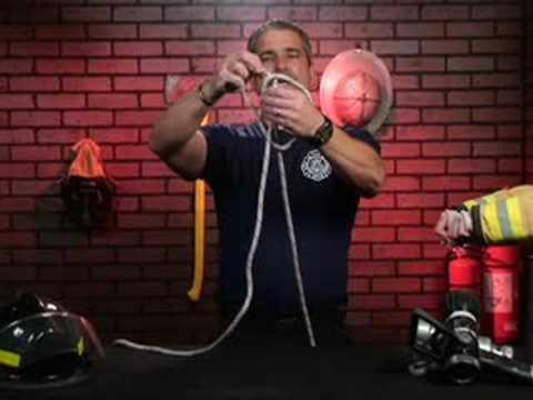 Temel Yangın Söndürme Knot: Yangın Söndürme Deniz Mili: Kelepçe Düğüm