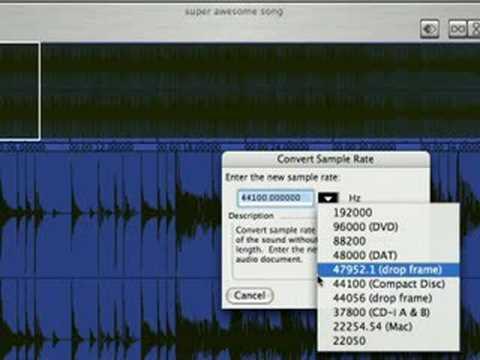 Peak Pro Ses Düzenleme Yazılımı Kullanarak : Peak Pro Tab Fonksiyonları