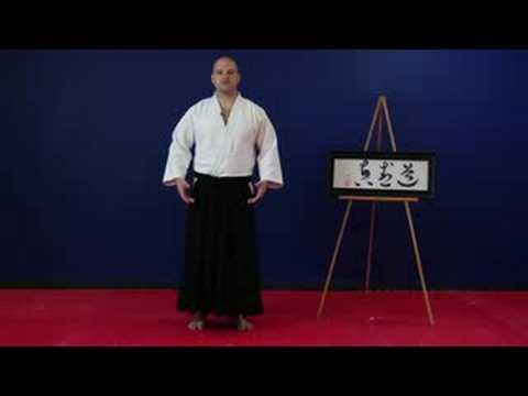 Aikido Egzersizleri Ve Uzanıyor: İpuçları Yürüyüş Aikido: Bölüm 1