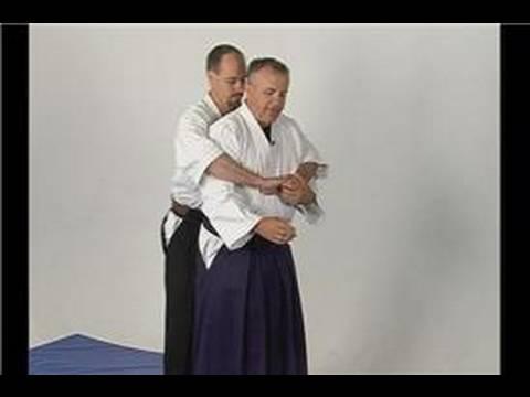 Aikido Koshinage Savunma Temelleri: Aikido Koshinage Arka Ayı Gibi Kucaklama Savunma
