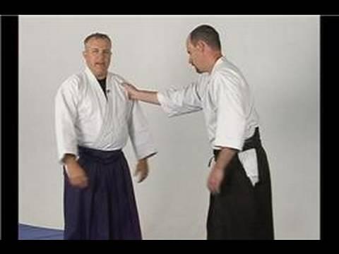 Aikido Koshinage Savunma Temelleri: Aikido Koshinage Giyim Kapmak Savunma