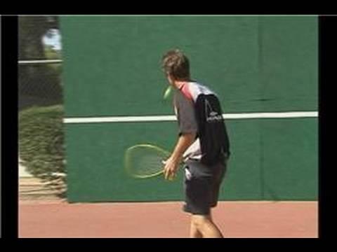 Çapraz-Kortu Tenisi Çekim: Eğitim İpuçları Tenis Çapraz-Mahkeme Oyun İçin