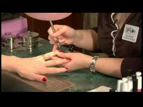 Çivi Noktalı Sanat Tasarımlar: Tırnak Noktalı Sanat Tasarımlar: Yüzük Parmağı Yaptı