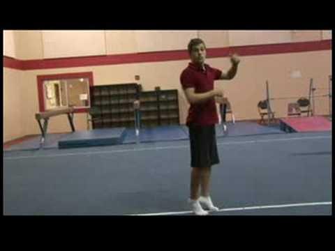 Rekabetçi Jimnastik İpuçları : Jimnastik Geriledi Çift Çevirmek