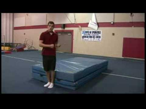 Rekabetçi Jimnastik İpuçları : Yarım Tur Jimnastik Geriledi