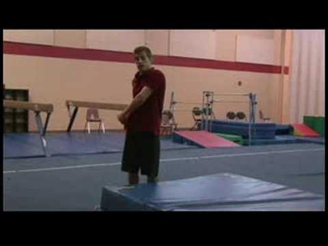 Rekabetçi Jimnastik İpucu : Bir Tam Dönüşü Jimnastik Geriledi