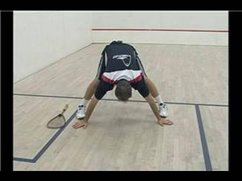 Squash Uzanıyor Ve Egzersizleri : Bacak Uzanır Squash