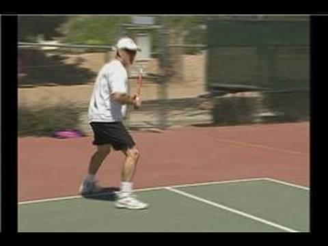 Tenis Çeviklik Matkaplar : Tenis Backhand Matkaplar Atlama Yan