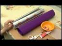 Nasıl Bir Kaleydoskop Yapmak: Bir Çiçek Dürbünü Yapmak İçin Malzemeleri
