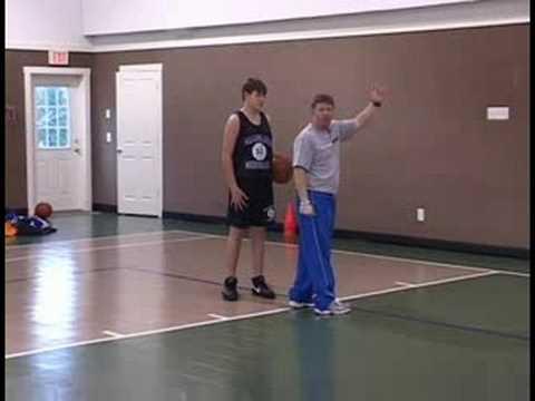 Basketbol Atlama Atış Ve Turnike İpuçları: Güç Layups: Sol Taraf