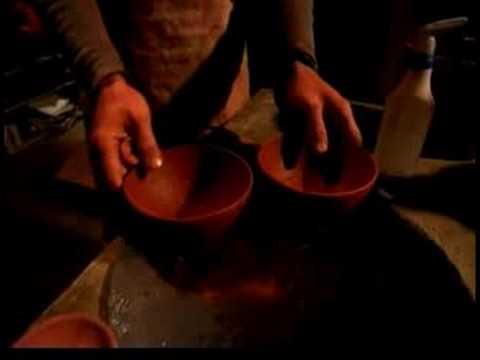Seramik Kaseler Yaparak : Seramik Kaseler: Fırın İçin Hazırlanması