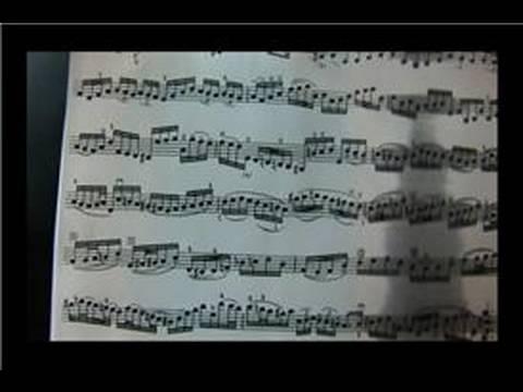 Bach Keman Müzik : Bach Keman Müzik Parçası: Satır 4, 1 Ölçü