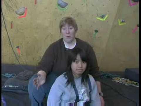 Engelliler İçin Kapalı Kaya Tırmanışı: Engelliler İçin Uyarlamalı Kaya Tırmanışı: Hasta Transfer
