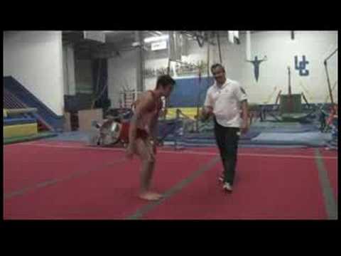 Atlama Olmadan Bir Ters Takla Yapmak İçin Nasıl Jimnastik :