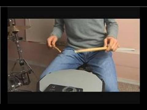Davul Tekniği: Paradiddles : Paradiddle Beats Davul: Üçüncü Not Aksan