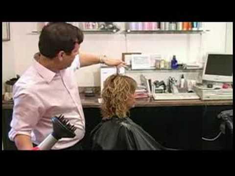 Kıvırcık Saç Kesimi Ve Saç Modelleri: Kıvırcık Saç Kurutma