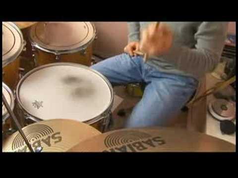 Shuffle Beat Davul Dersleri: Shuffle İpuçları Beat: İlk Yarı Hissediyorum
