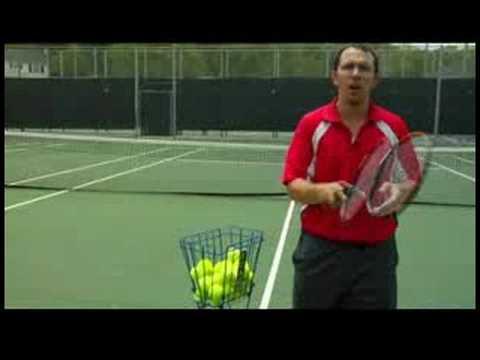 Tenis Nasıl Oynanır : Spin İle Bir Tenis Topu Vurmak İçin Nasıl