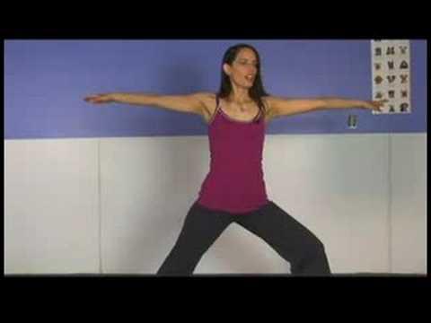 Ayakta Yoga Poses: Warrior 2 Yoga Pose: Sol Taraf
