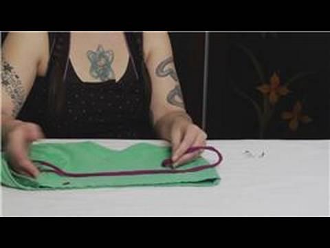 Bir İpli Restring Nasıl : Restringing Drawstrings Malzemeleri