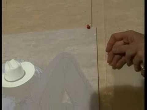 Bir Slayt Projektörü İle Suluboya Resim Çizimi : Suluboya Resim Çizerken Bir Projektör Prizden