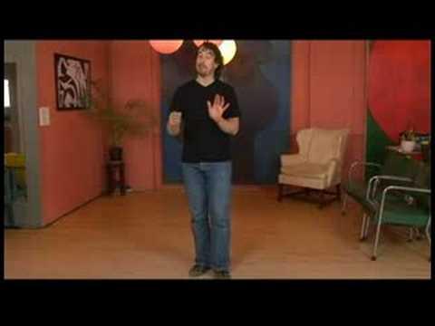 Charleston Dansı Tandem İtme-Çıkışları Ve Dönüşleri Tuck : Charleston Dans Liderleri-Dışarı İtmek 1-5