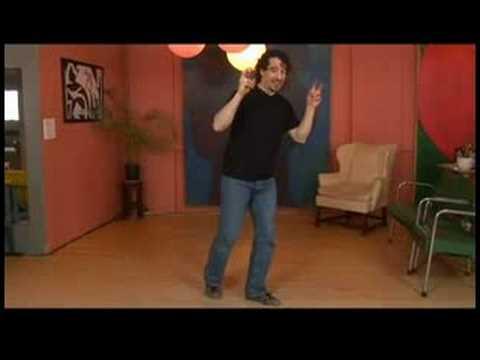 Charleston Dansı Tandem İtme-Çıkışları Ve Dönüşleri Tuck : Charleston Dans Liderleri-Dışarı İtmek Tandem 5-8 İçin