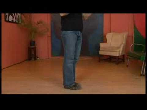 Charleston Dansı Tandem İtme-Çıkışları Ve Dönüşleri Tuck : Charleston Dans Liderleri-Push-Turn Tuck 5-10 İçin