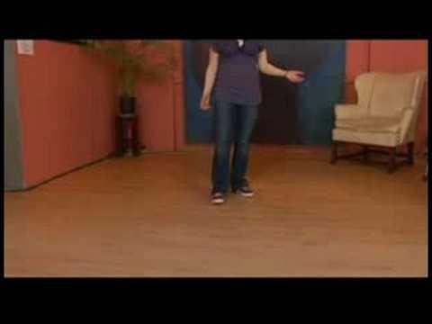 Charleston Dansı Tandem İtme-Çıkışları Ve Dönüşleri Tuck : Charleston Dans Takipçileri Dışarı İtmek 1-5