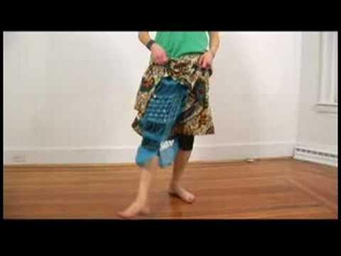 Senegalli Sabar Dans Temelleri: Senegalli Sabar Dans: 5 Adım Atlama Feet