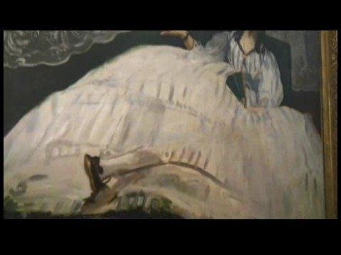 """Anlayış Sanat Yoluyla Budapeşte Güzel Sanatlar Müzesi: Bölüm Iı: Manet: """"lady Bir Fan İle"""""""