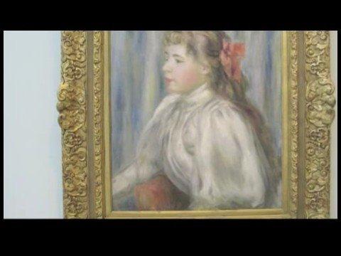 Anlayış Sanat Yoluyla Budapeşte Güzel Sanatlar Müzesi: Bölüm Iı: Pierre Auguste Renoir: Bir Kız Portresi