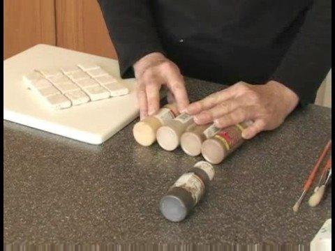 Anahtarı Plakaları Kamufle: Switch Plakaları Kamufle: Boyama Yöntemleri