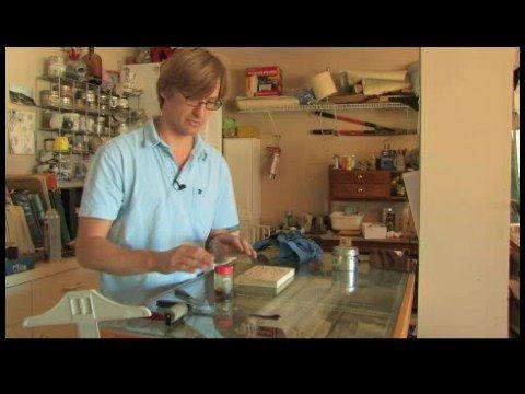 Bir Yardım Yapmayı Veya Blok Baskı : Kabartma Baskı İçin Mürekkep Hazırlama
