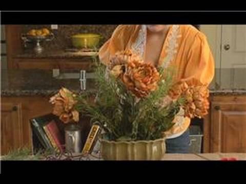 Çiçek Aranjmanları İpek : İpek Çiçek Düzenlemeleri İçin Aksesuarlar