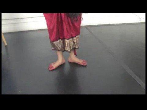 Güney Hint Bharatanatyam Dans Dersleri : Bharatanatyam Dans İpuçları: Tey Tey Ta