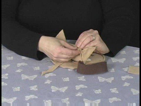 Hayvan Yüz Çantalar Yapmak : Bir Kedi Ekleme Çanta Kapatılması Yüz