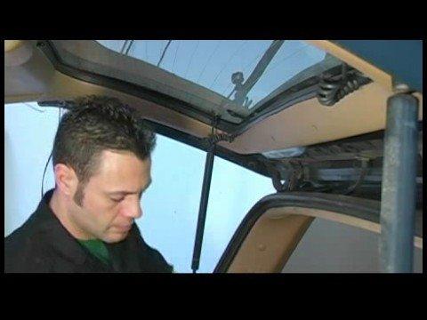 Kapı Mandalı Asansör Değiştirme : Araç Üzerinde Kapı Deriyi Kaldırmak İçin Nasıl