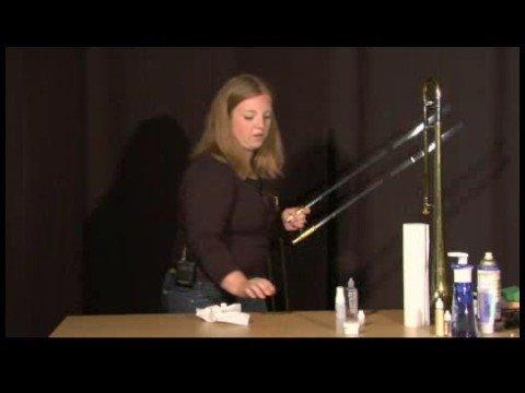 Trombon Bakım : Uygulama Trombon Slayt Yağlama