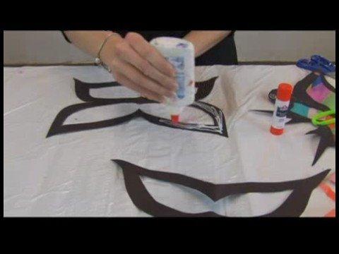 Çocuk\'s El Sanatları: Kağıt Kelebek Güneş Yakalayıcılar : Kelebek Güneş Yakalayıcılar: Kağıt İçin Hazırlanıyor