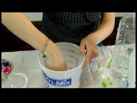 Çocuk\'s El Sanatları: Kağıt Mache Kertenkeleler : Kağıt Mache Yapmak