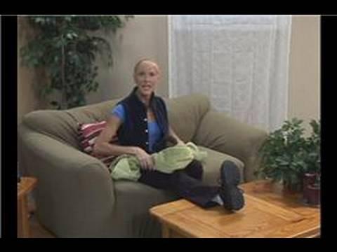 Havlu Egzersizleri Ve Uzanıyor : Havlu Egzersizleri: Bacak Streç