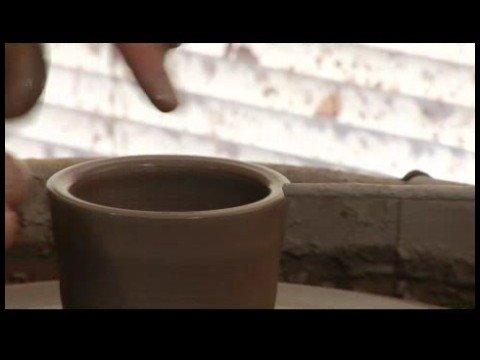Nasıl Seramik Çay Seti Yapmak: Seramik: Bir İşaretçi Kullanarak