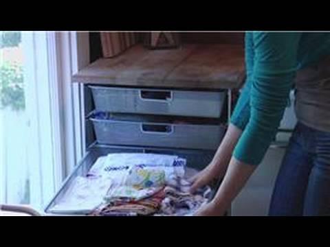 Organizasyon Mutfak Aksesuarları: Mutfak Dishtowel Düzenleme
