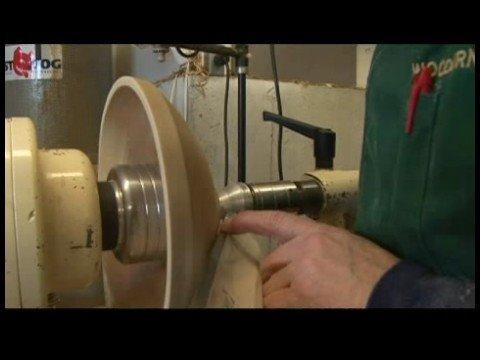 Woodturning: Torna Ve Zımpara Bir Kase : Woodturning: Vakum Üzerinde Bir Kase Chuck Ortalama