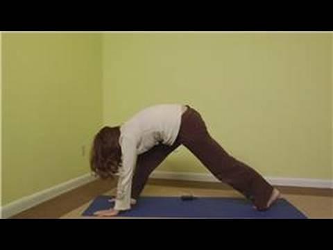 Yoga Sun Salutation Gelişmiş: Yoga Gelişmiş Sun Salutation Pozlar: Ters Savaşçı