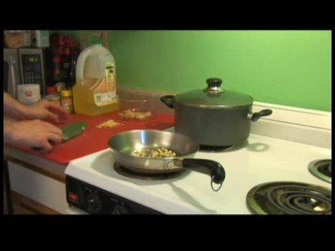 Hint-Baharatlı Patates İle Karides : Patatesli Karides: Wipe & Yağ Deposu